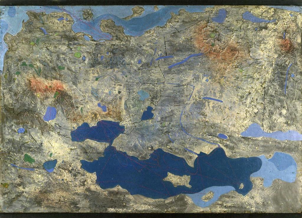 Max Ernst, Europa nach dem Regen, 1933.
