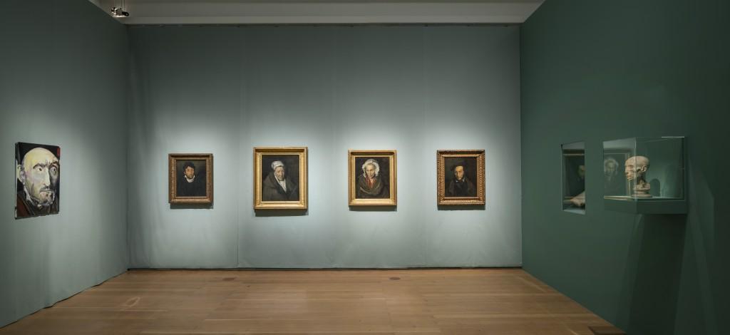 Abb. 5: Géricault. Bilder auf Leben und Tod. Ausstellungsansicht.
