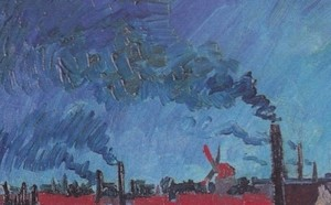 Vincent van Gogh, Sommerabend (Detail), Juni 1888, Öl auf  Leinwand, 74 x 92 cm, F 465 Winterthur, Kunstmuseum.