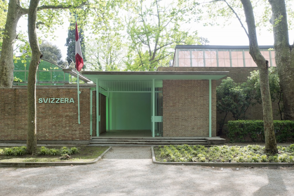 Pamela Rosenkranz, Our Product, 2015, Installationsansicht, Venedig, Schweizer Pavillon der 56. Biennale di Venezia.