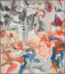 Willem de Kooning, Untitled XIII, 1975, Öl/Leinwand, 221,6 x 196,6 cm, Yale, Yale University Art Gallery.