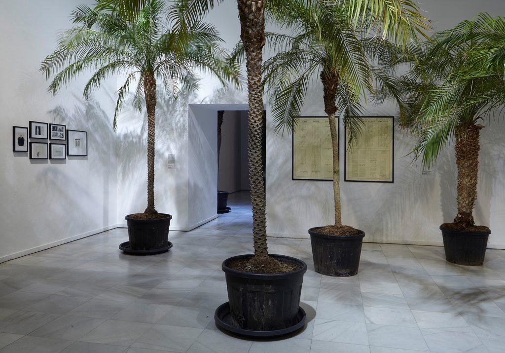Marcel Broodthaers. Eine Retrospektive. Ausstellungsansicht. Museo Nacional Centro de Arte Reina Sofia. 2016.