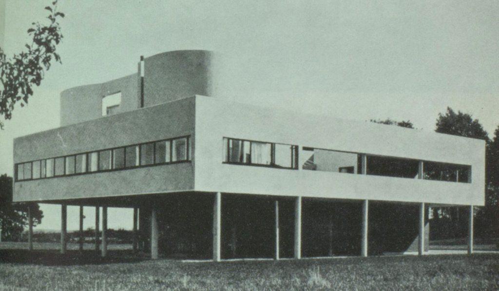 Abb. 6: Le Corbusier und Pierre Jeanneret, Villa Savoye, Poissy-sur-Seine, 1930.