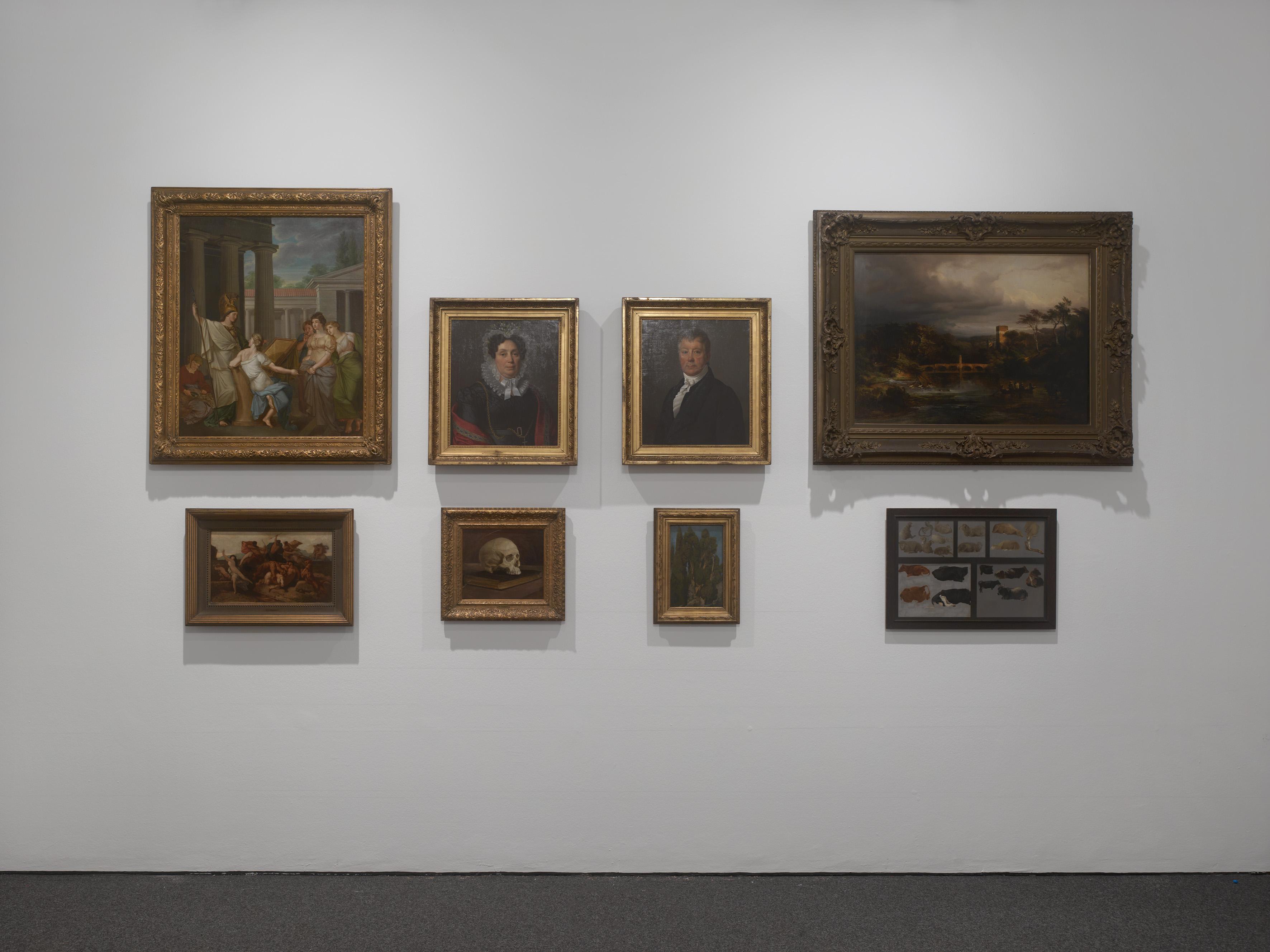 Fig. 2: Installation view Marcel Broodthaers: Eine Retrospektive, 2017, K21, Kunstsammlung Nordrhein-Westfalen, Düsseldorf.